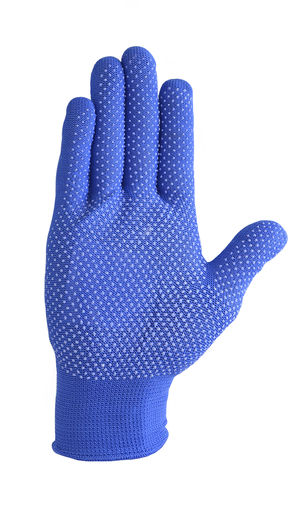 Nylon gloves with PVC coating MICRODOT