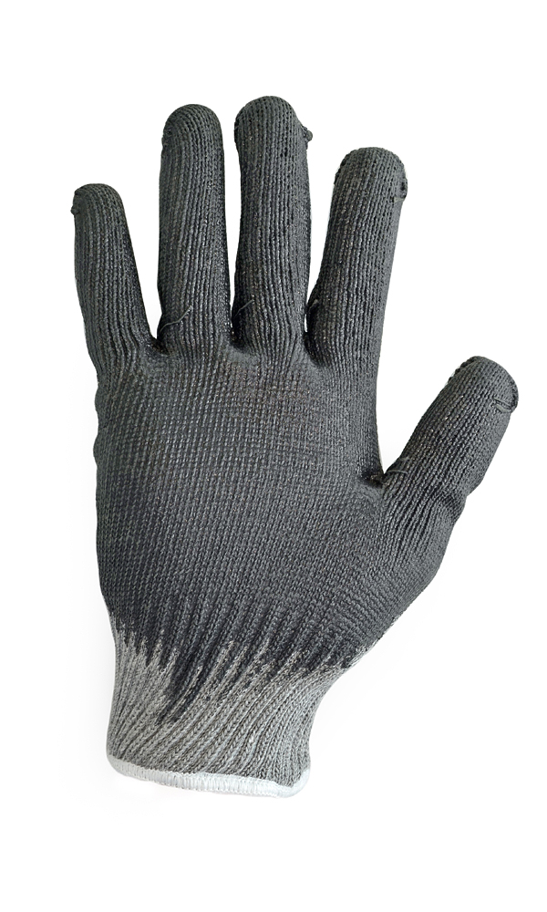 Cotton gloves with triple latex flow coating Metallurgist