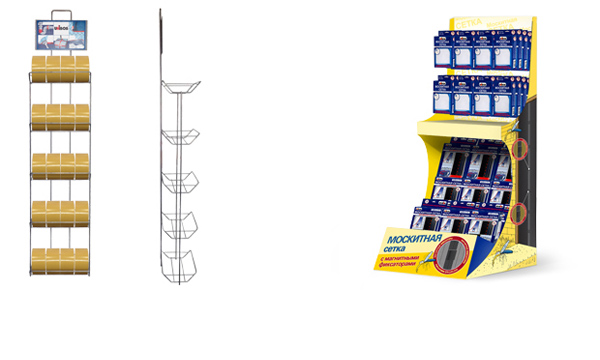 Store fixtures and equipment