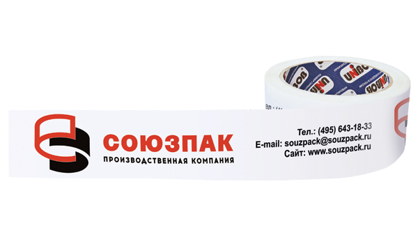 UNIBOB® printed adhesive tape (with logo)