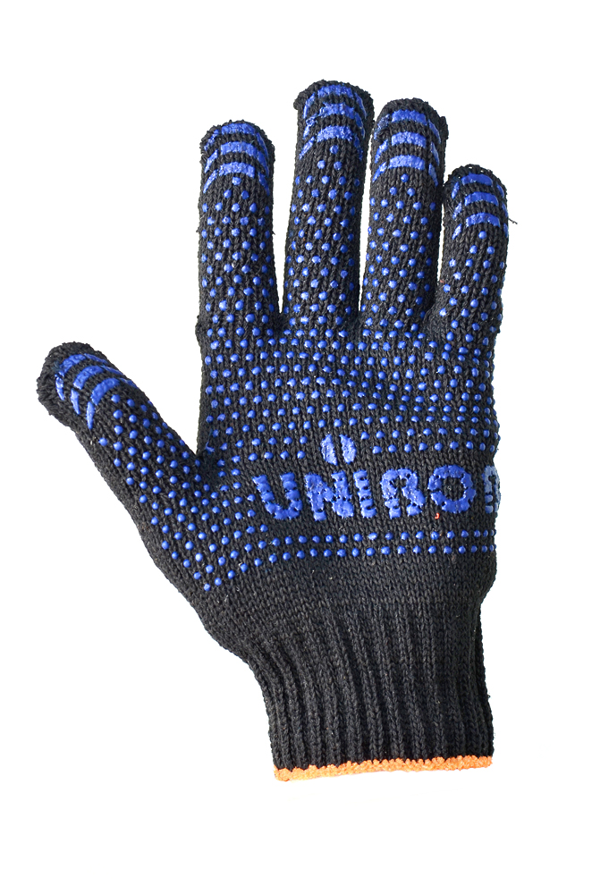 Half wool gloves with PVC coating UNIBOB, 10 class